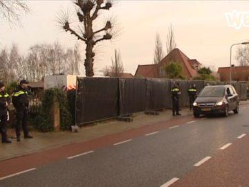 Groot politieonderzoek in Zwaag