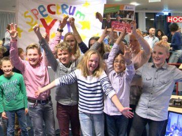 Het Spectrum wint de Kindergemeenteraad