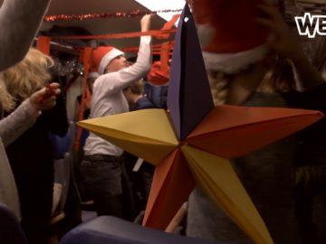 Kerstontbijt in de trein