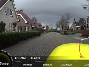 Ligfiets video rit Opmeer Hoogwoud