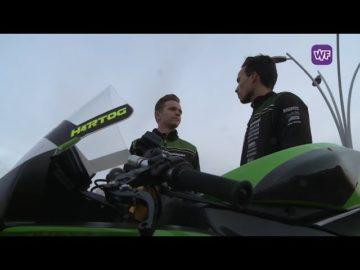 Rob Hartog en Glenn van Straalen rijden dit seizoen het WK Supersport