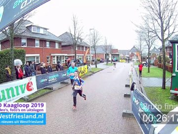 Video (start&Finish) Kaagloop 2019