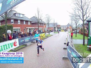 Video (start&Finish) Kaagloop 2019