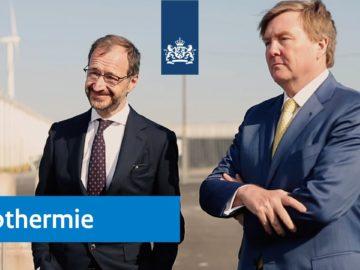 Geothermie | Minister Wiebes en koning Willem-Alexander in Andijk